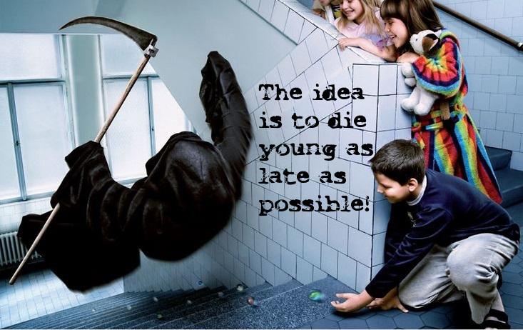 Funny death quote