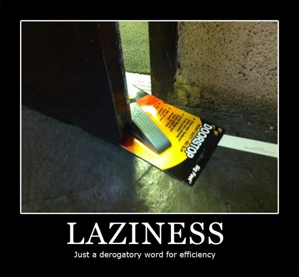 DoorStopLazy