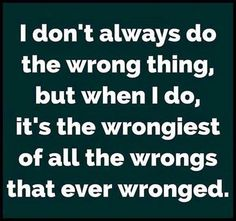 WrongThing