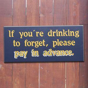 DrinkingToForget