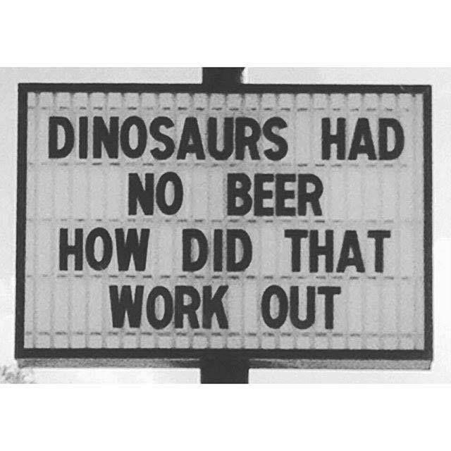DinosaursNoBeer